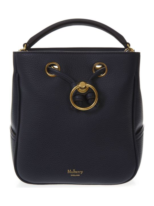 Mulberry Night Blue Leather Bag