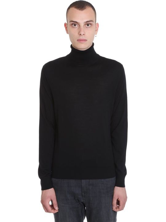Ermenegildo Zegna Knitwear In Black Wool