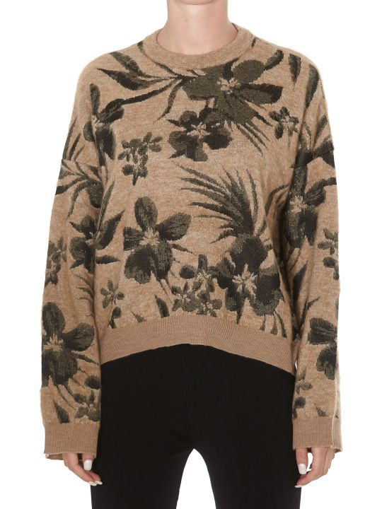 (nude) Jaquard Pullover