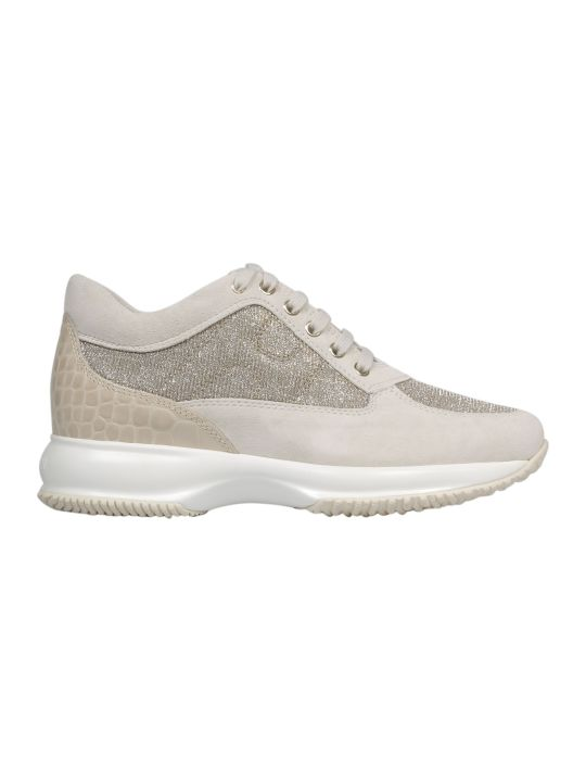 Hogan Contrast Sole Sneakers