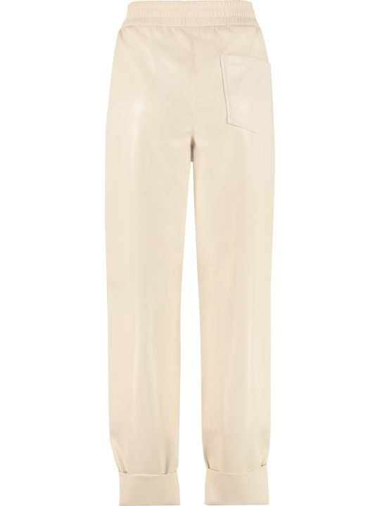 Nanushka Selah Faux Leather Trousers