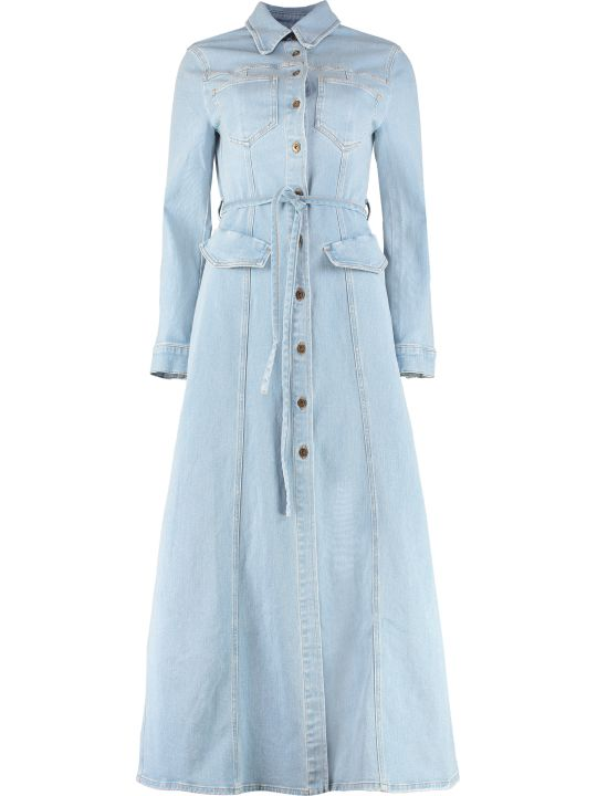 Nanushka Denim Shirtdress