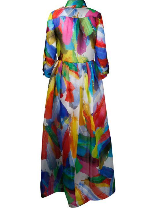 Sara Roka Long Silk Dress
