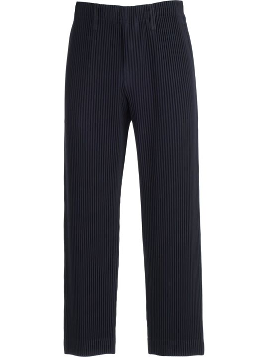 Pleats Please Issey Miyake Pleats Please By Issey Miyake Pleated Tailored Trousers