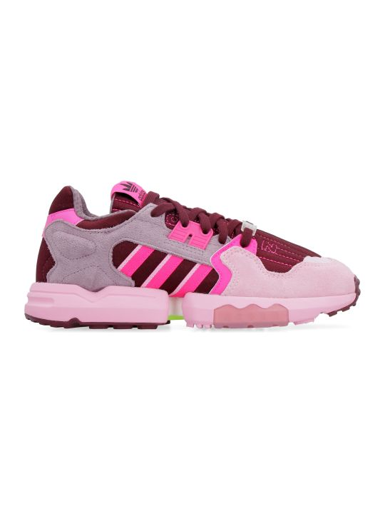 Adidas Zx Torsion Suede And Techno Fabric Sneakers