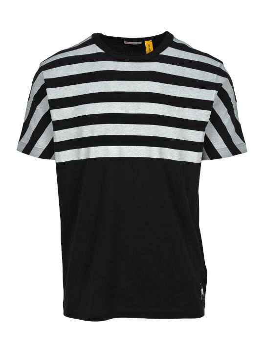 Moncler Fragment Moncler Fragment Striped T-shirt