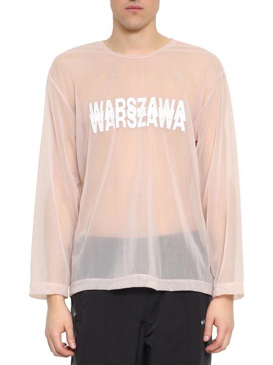 MISBHV Warszawa Sheer T-shirt