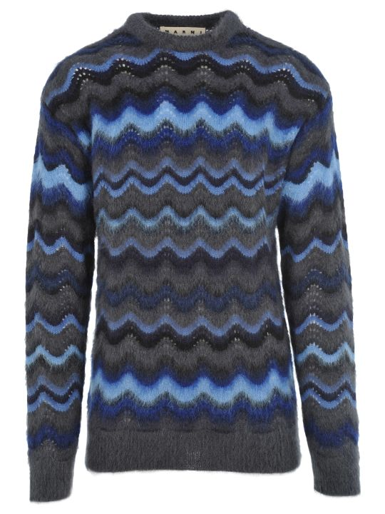 Marni Wavy Knit Jumper