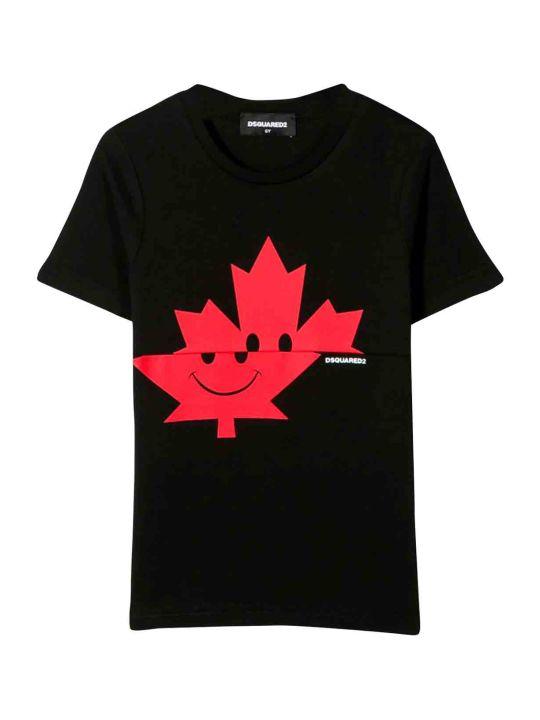 Dsquared2 Black Teen T-shirt