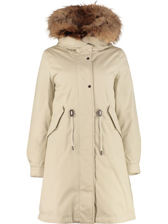 Woolrich Cascade Parka With Removable Padding