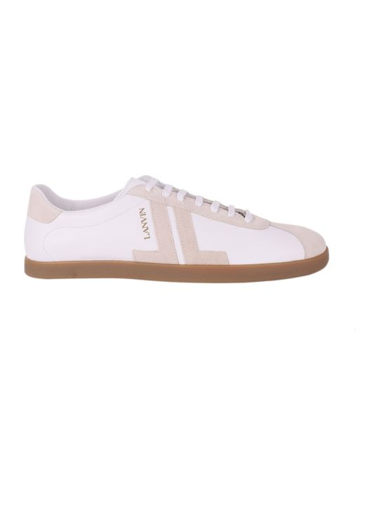 Lanvin White Jl Sneakers
