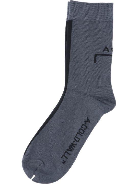 A-COLD-WALL Logo Socks
