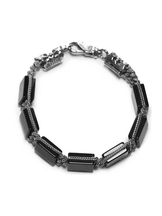 Emanuele Bicocchi Rectangle Stone Bracelet