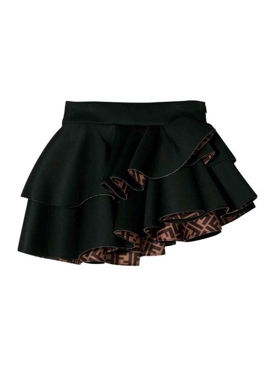 Fendi Black Skirt