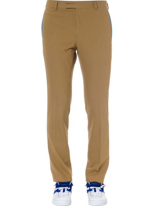 Calvin Klein Contrast Trim Gabardine Trousers