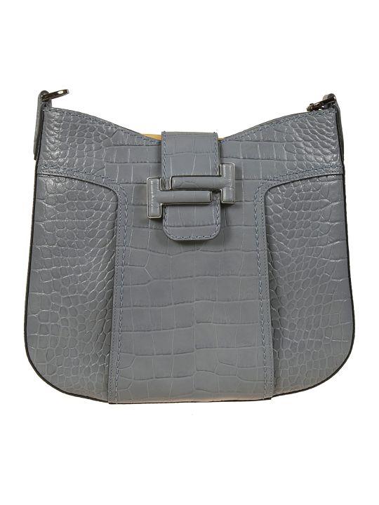 Tod's Crocodile Effect Shoulder Bag