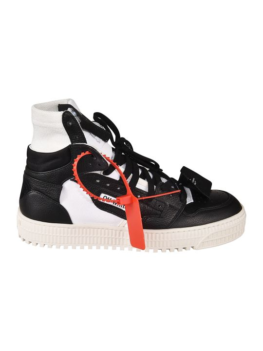 Off-White Hi-top Lace-up Sneakers
