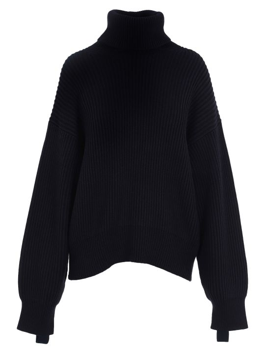 Helmut Lang Ribbed High Neck Sweater