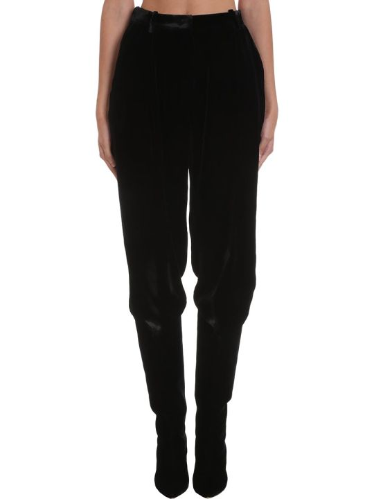 Magda Butrym Pants In Black Viscose