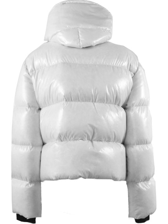 Fay 3 Hooks White Down Jacket