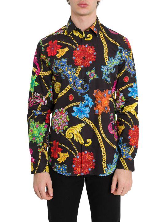 Versace Paisley Motif Shirt