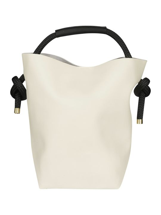 Zucca Round Handle Shopper Bag