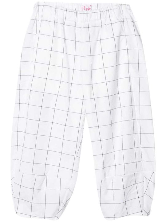 Il Gufo Kids Check Trousers