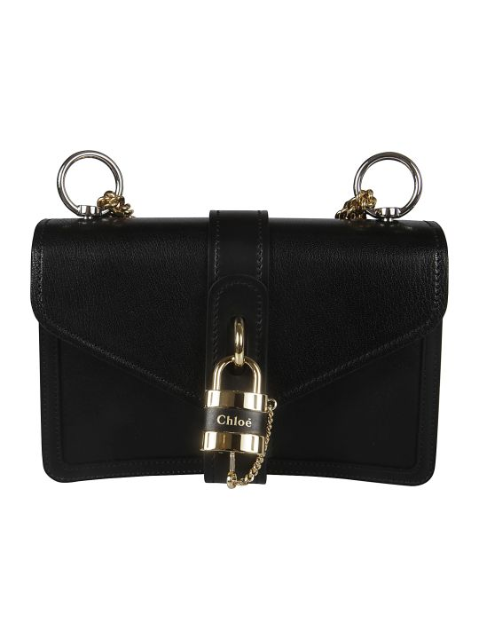 Chloé Locked Detail Shoulder Bag