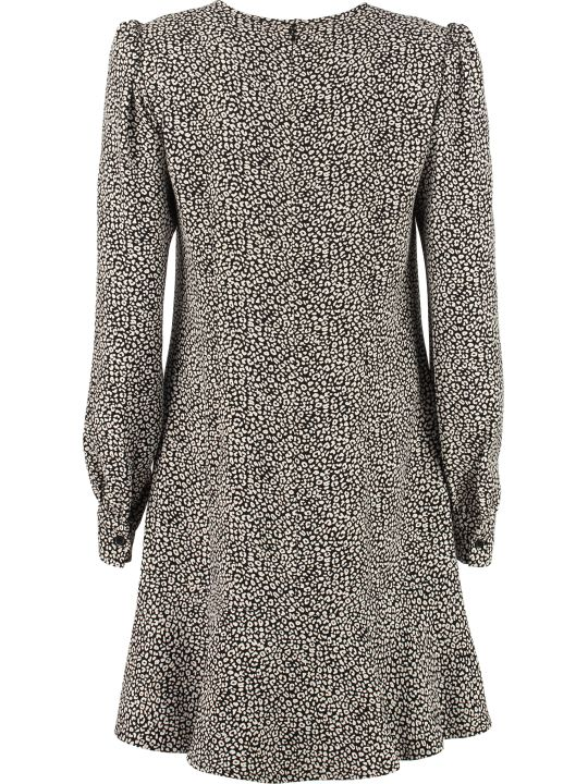 MICHAEL Michael Kors Dress With Raffled Edges