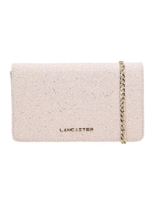 Lancaster Paris Pink Glitter Actual Shiny Bag