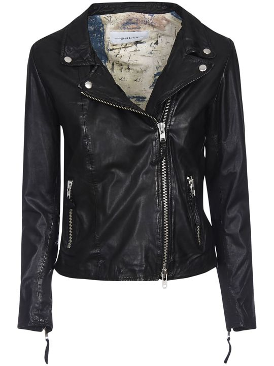 Bully Zipped Leather Jacket