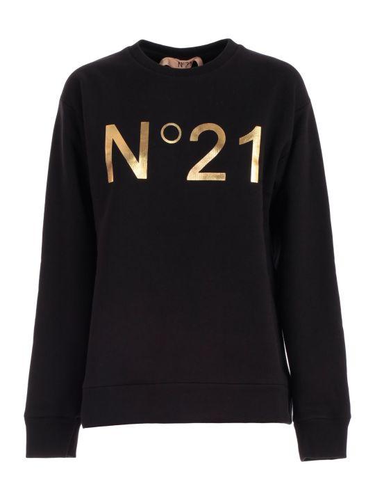 N.21 Sweatshirt Round Neck W/logo