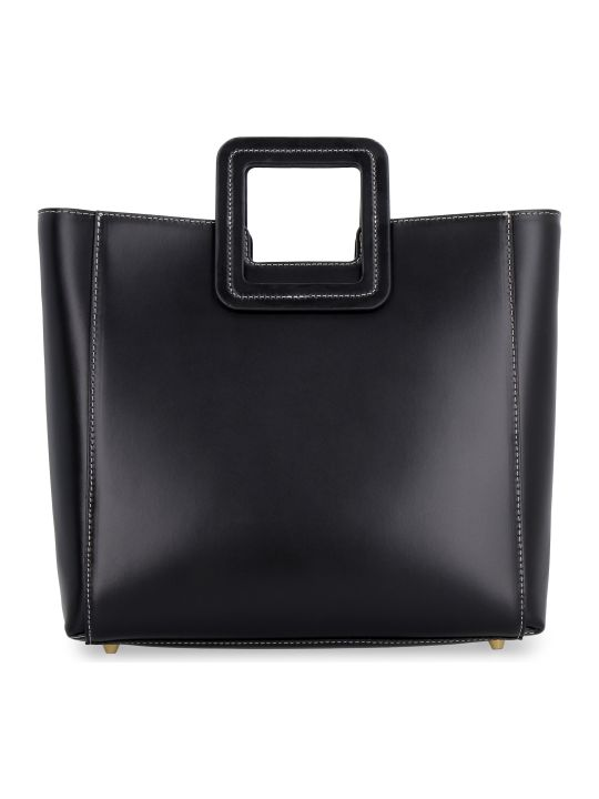 STAUD Shirley Leather Tote