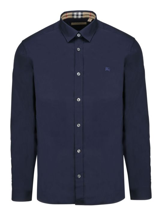 Burberry Contrast Button Shirt