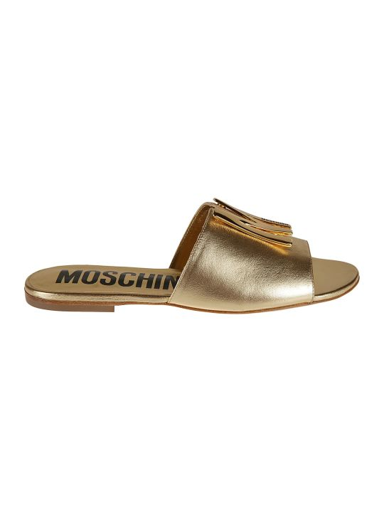 Moschino Sole Logo Sliders