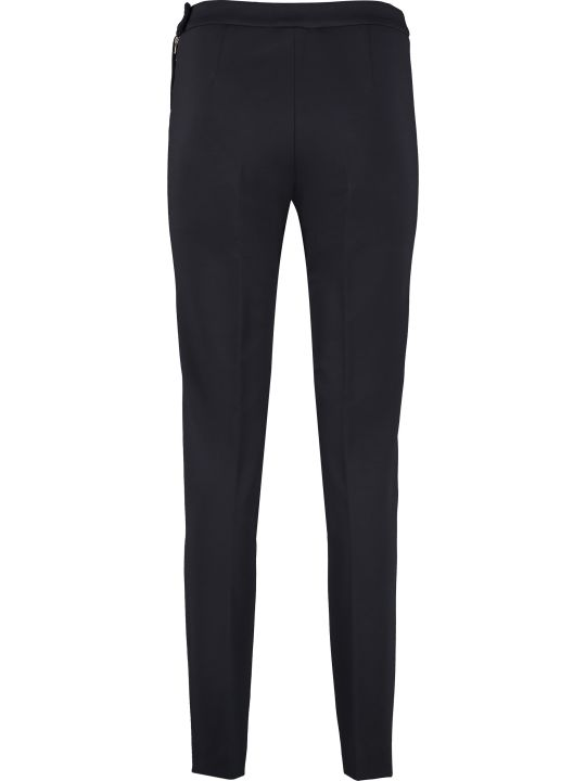 Max Mara Studio Polis Slim Fit Tailored Trousers