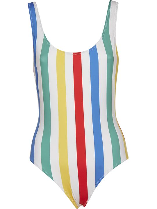 Solid & Striped Striped Swimsuit