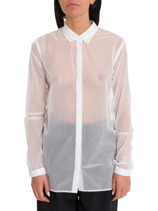 Ben Taverniti Unravel Project Zippered Oirgandie Shirt