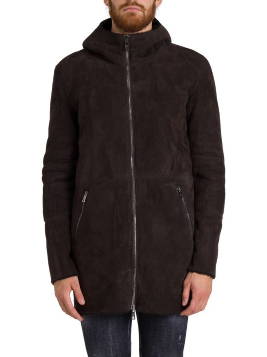 Giorgio Brato Shearling Jacket With Hood