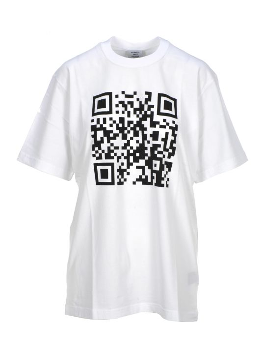VETEMENTS Tshirt Qr Code