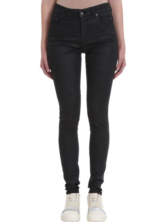 DRKSHDW Black Denim Detroit Cut Jeans