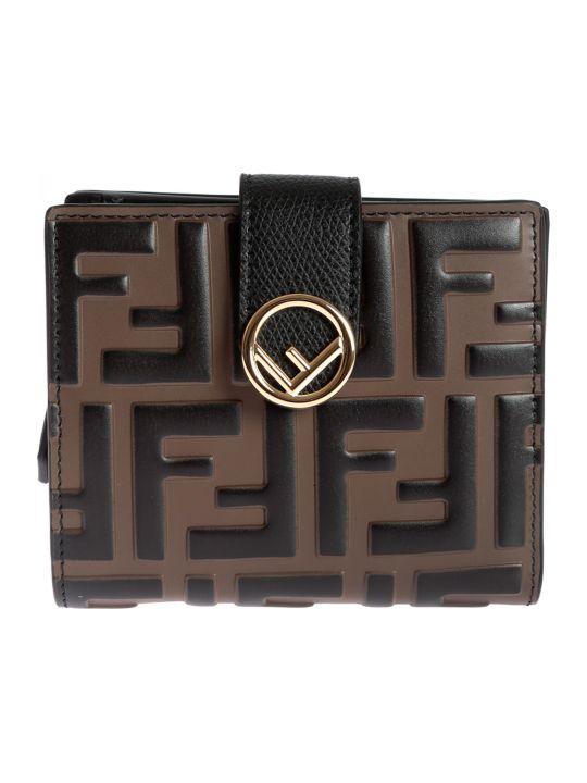 Fendi Logo Small Wallet