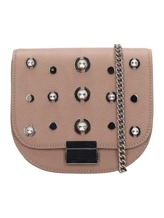 Lola Cruz Guss Taupe Leather Bag