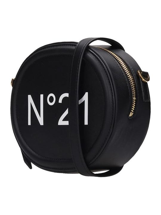 N.21 Clutch In Black Leather