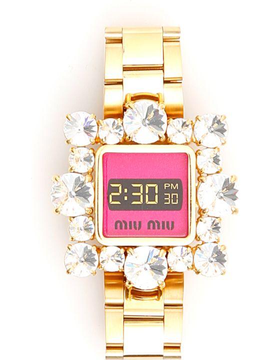 Miu Miu Crystal-embellished Bracelet