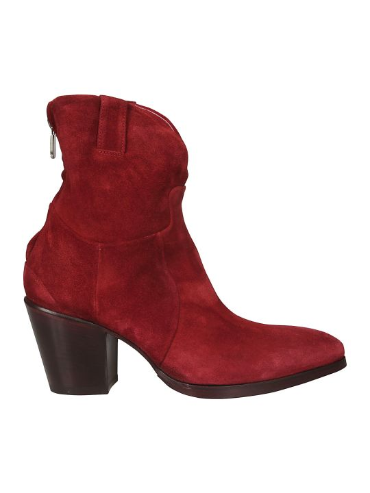 Rocco P. Rear Zip Ankle Boots