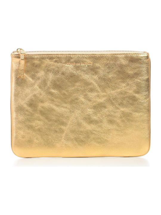 Comme des Garçons Wallet Wallet Large Gold And Silver