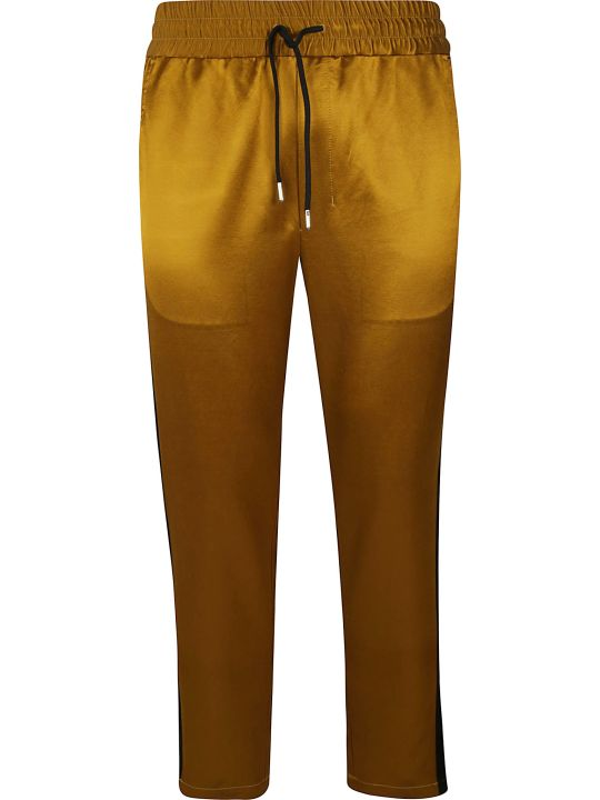 Ami Alexandre Mattiussi Elasticated Woven Trousers