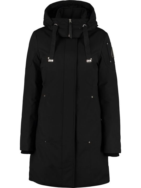 Moose Knuckles Long Quilted Parka