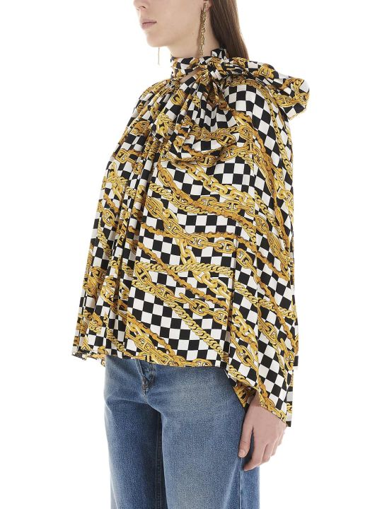 Balenciaga 'puffy Scarf' Blouse